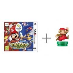 Mario & Sonic - At The Rio 2016 Olympic Games + Classic amiibo - Nintendo 3DS - krabicová verze