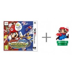 Mario & Sonic - At the Rio 2016 Olympic Games + Modern amiibo - Nintendo 3DS - Box version