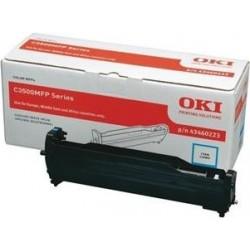OKI 43460223 - oryginalny niebieski cylinder