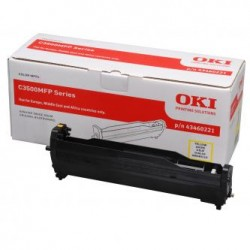 OKI 43460221 - original yellow cylinder