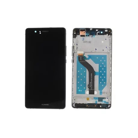Huawei P9 Lite VNS-L21 L22 L23 L31 L53 - Černá dotyková vrstva + LCD displej s rámečkem