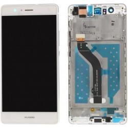 Huawei P9 Lite VNS-L21 L22 L23 L31 L53 - Biela dotyková vrstva + LCD displej s rámčekom