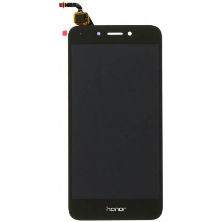Huawei Honor 6A DLI-L22 L01 TL20 AL10 - čierny LCD displej + dotyková vrstva, dotykové sklo, dotyková doska