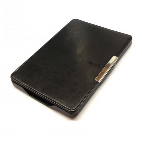 Kindle Paperwhite 5 - černé pouzdro na čtečku knih - magnetické - PU kůže - ultratenký pevný kryt