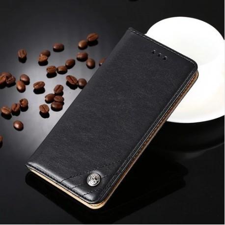 Huawei P9 - black PU leather case