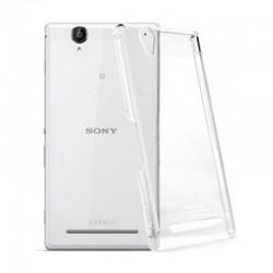 Sony Xperia Z2 - zadní silikonový kryt - průhledný