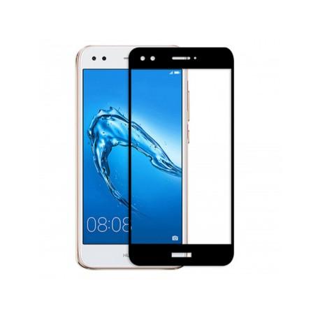 Ochranné tvrdené krycie sklo pre Huawei P9 Lite Mini SLA-L22 SLA-L02 - čierne