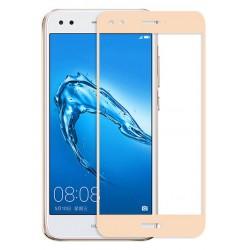 Ochranné tvrdené krycie sklo pre Huawei P9 Lite Mini SLA-L22 SLA-L02 - zlaté