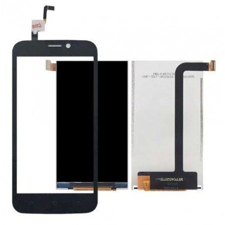 iGET Blackview A5 - black LCD display + touch pad, touch glass, touch panel