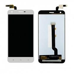 Vodafone Smart Ultra 6 VF-995N VF995N 995 995N - Bílý LCD displej + dotyková vrstva, dotykové sklo, dotyková deska + flex