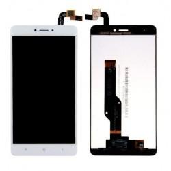XIAOMI Redmi Note 4 - Bílý LCD displej + dotyková vrstva, dotykové sklo, dotyková deska