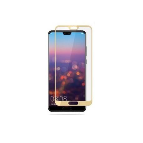 Ochranné tvrzené krycí sklo pro Huawei P20 Lite - zlaté