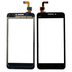 Huawei G620 G620-UL01 - Čierna dotyková vrstva, dotykové sklo, dotyková doska + flex