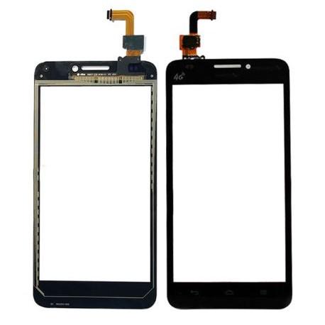 Huawei G620 G620-UL01 - Černá dotyková vrstva, dotykové sklo, dotyková deska + flex