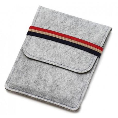 Kindle Paperwhite 1/2/3, Voyage Kindle 8 - svetlo sivé puzdro na čítačku kníh