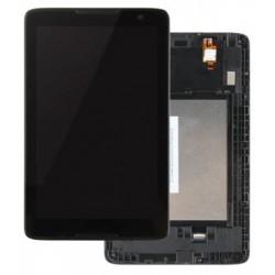 Lenovo IdeaTab A8-50 A5500 - LCD displej s rámečkem + černá dotyková vrstva, dotykové sklo, dotyková deska