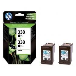 HP 338 CB331E - 2x černá originální cartridge