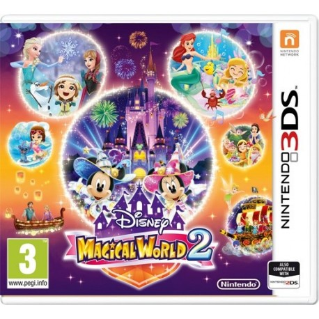 Disney Magical World 2 - Nintendo 3DS - boxed version