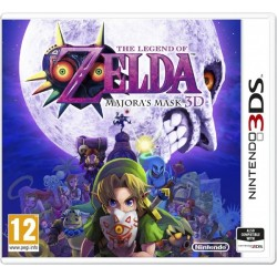 The Legend of Zelda - Majoras Mask - Nintendo 3DS - krabicová verze