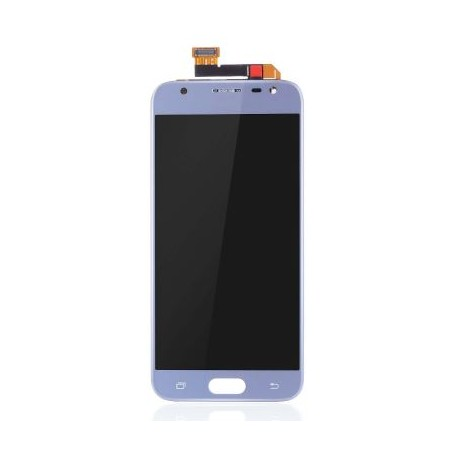Samsung Galaxy J3 2017 J330F - Blue LCD + touch screen, touch glass, touchpad + flex