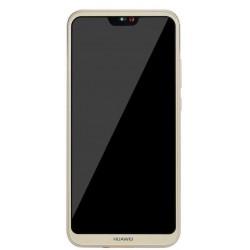 Huawei Nova 3, P20 Lite - Zlatá dotyková vrstva + LCD displej