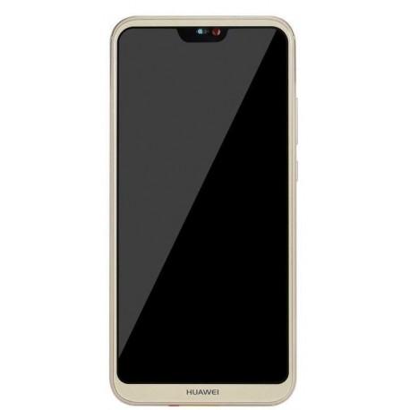 Huawei Nova 3, P20 Lite - Gold Touch Layer + LCD Display