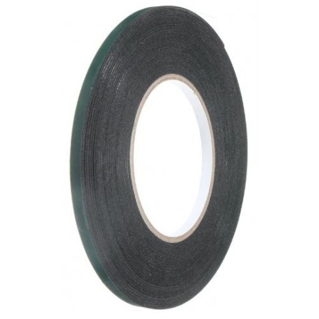Double-sided adhesive foam tape, width: 2mm, length: 10m