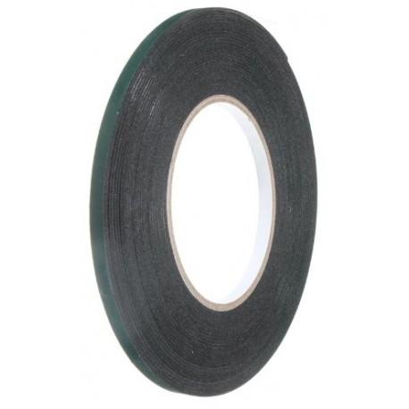 Oboustranná lepicí pěnová páska, šířka: 2mm, délka: 10m