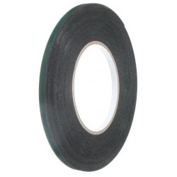 Double-sided adhesive foam tape, width: 3mm, length: 10m