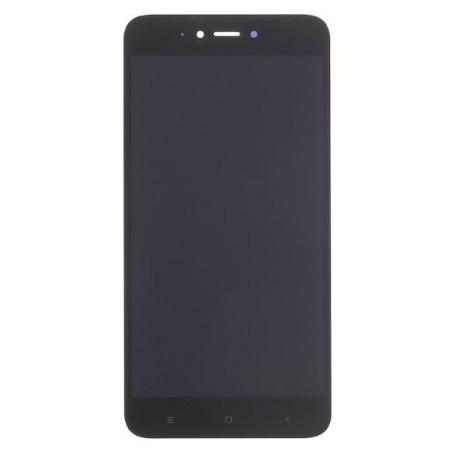 Xiao Redmi Note 5A - Čierny LCD displej + dotyková vrstva, dotykové sklo, dotyková doska