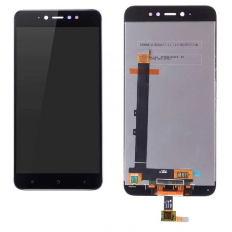 XIAOMI Redmi Note 5A Prime - Black LCD + touch screen, touch glass, touch pad