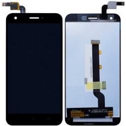 Vodafone Smart Ultra 6 VF-995N VF995N 995 995N - Černý LCD displej + dotyková vrstva, dotykové sklo, dotyková deska + flex