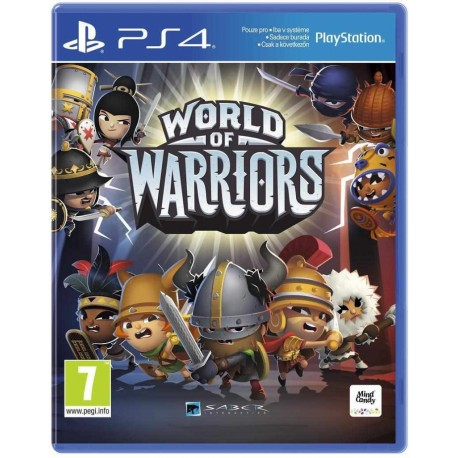 World of Warriors - PS4 - boxed version