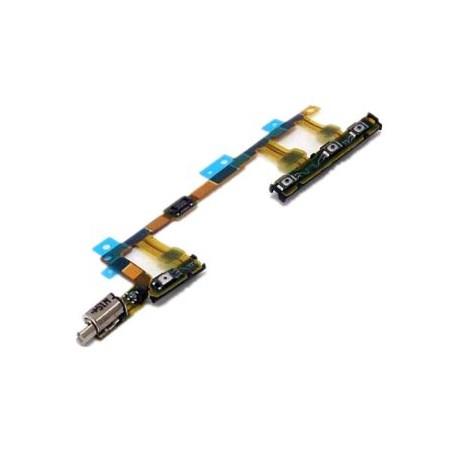 Sony Xperia Z3 Compact M55W D5803 D5833 - zapínacie tlačidlo ON / OFF, ovládanie hlasitosti a vibračný motorček