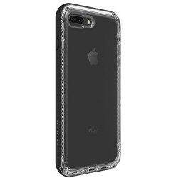 Apple iPhone 7 Plus / 8 Plus - LifeProof Nëxt - Durable Case - Transparent, Black
