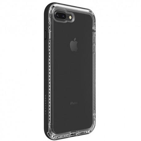 Apple iPhone 7 Plus / 8 Plus - LifeProof Nëxt - Durable Case - Transparent, Black