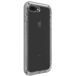 Apple iPhone 7 Plus / 8 Plus - LifeProof NEXT - odolné púzdro - priehľadné, sivé