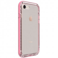 Apple iPhone 7/8 - LifeProof Nëxt - Durable Case - Transparent, Pink