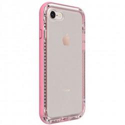 Apple iPhone 7/8 - LifeProof Nëxt - Trwała obudowa - Przezroczysty, Różowy