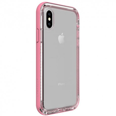 Apple iPhone X - LifeProof Nëxt - Durable Case - Transparent, Pink