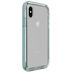 Apple iPhone X - LifeProof Nëxt - trwała obudowa - przezroczysta, jasnozielona