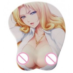 Silicone mouse pad Anime 3D