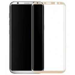Ochranné tvrdené krycie sklo pre Samsung Galaxy S8 G950 - zlaté