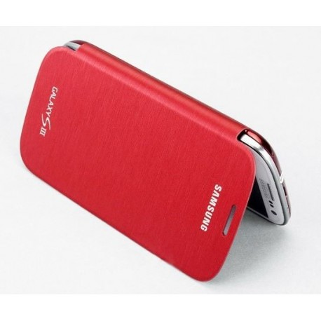 Samsung Galaxy S3 i9300 Red - Flip Cover