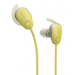 Sony WI-SP600N - yellow wireless headphones
