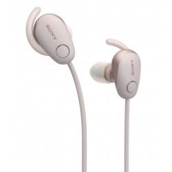 Sony WI-SP600N - pink wireless headphones
