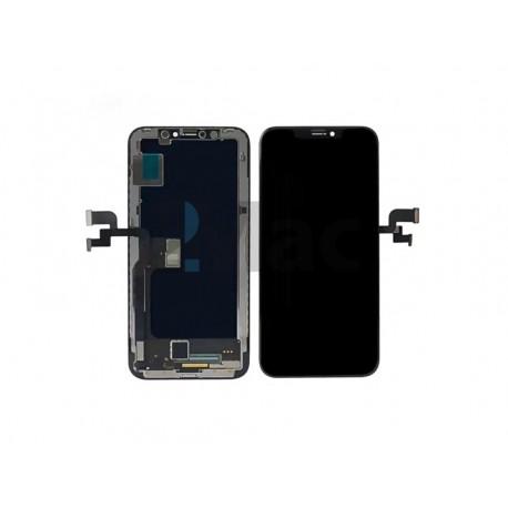 Apple iPhone XS - Čierny LCD displej + dotyková vrstva, dotykové sklo, dotyková doska