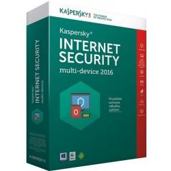Kaspersky Internet Security multi-device 2016 - antivirová licence, 3 zařízení, 1 rok