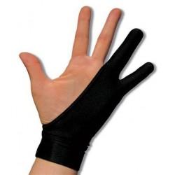 SmudgeGuard 2 SGSG2BLACKL - czarne rękawiczki, rozmiar L.