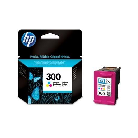 HP 300 Color (CC643EE) - originální cartridge - barevná